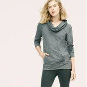 2 for $20 Lou & Grey Heathered Cowl Neck Tunic - L